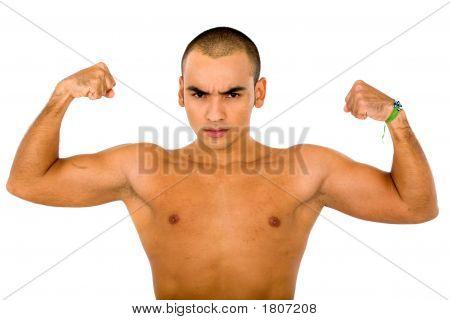 Fitness Man Portrait