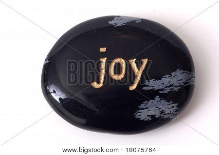 Joy - zen stone
