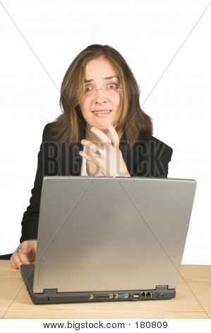 Business Nerves On Computer