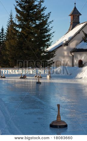 Ice Stock Sport Rink