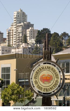 Fisherman Warf Sign