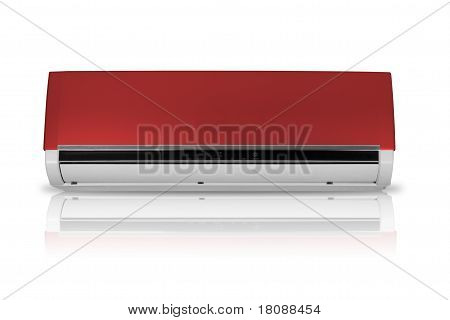 Split Airconditioner Ac Isolated On White Background