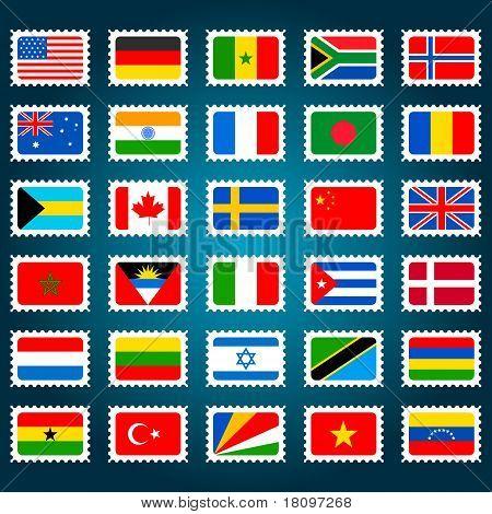 Flag Stamp