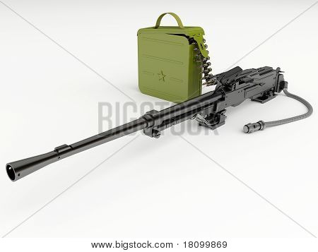 A metralhadora de tanque Kalashnikov modernizada
