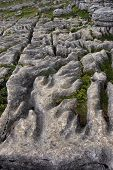 Weathered Limestone At Malham poster
