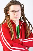 Young Adult With Dreadlocks