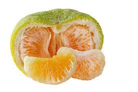 pic of tangelo  - Jamaican tangelo fruit hybrid of orange grapefruit and tangerine - JPG