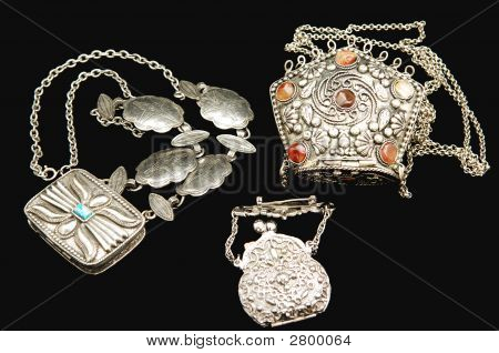 Antique Silver Jewelry.