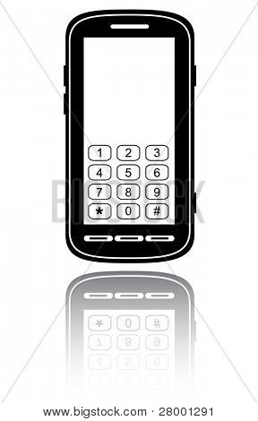 Smartphone. Vector illustration.