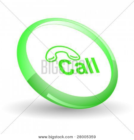 Hotline. Vector icon.