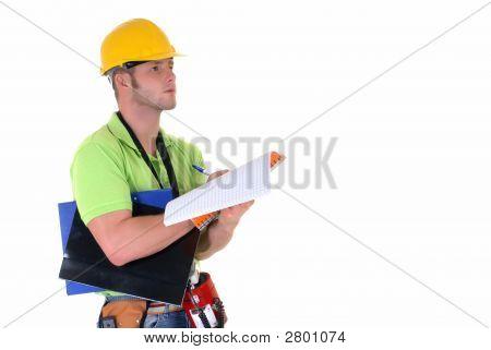 Supervisor Inspecting