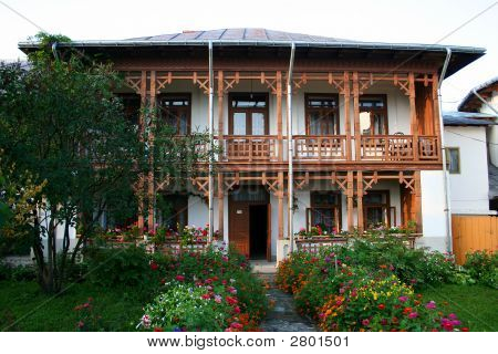 Traditional Peasant House In Romania