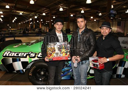 2011 Spark of Love Toy Drive Hosted by Kiowa Gordan