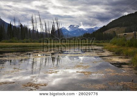 Cool morning in northern mountains in the beginning of autumn. More magnificent pictures from the American and Canadian National parks you can look hundreds in my portfolio. Welcome!