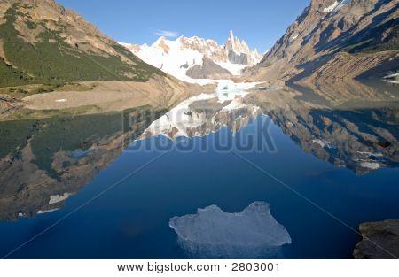 Cerro Torre From Lake Laguna Torre