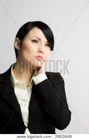 Daydreaming Businesswoman
