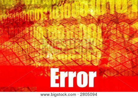 Error System Message
