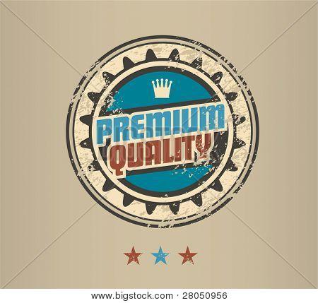 Premium Quality vintage badge
