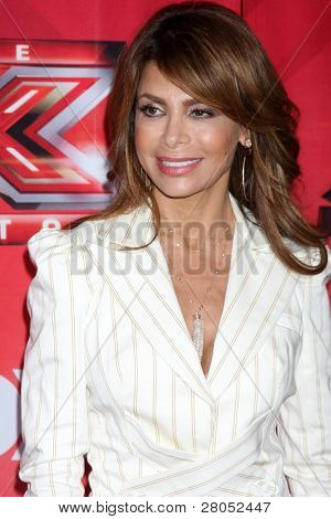 LOS ANGELES - DEC 19: LA Reid, Chris Rene, Nicole Scherzinger, Josh Krajcik, Paula Abdul, Simon Cowell, Melanie Amaro at the FOX's