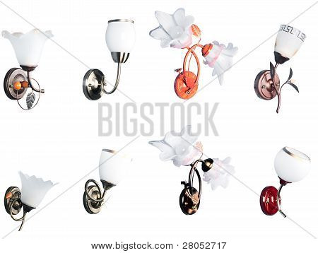Lamp Wall Set #4.2 | Isolated