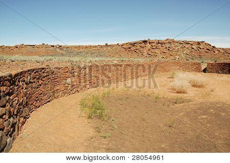 Wupatki ball field