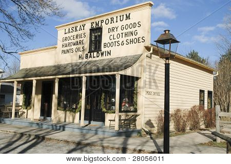 Laskey Emporium trade post and general store