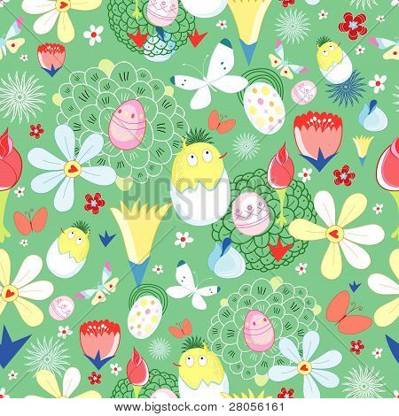 Ostern Blumen Textur