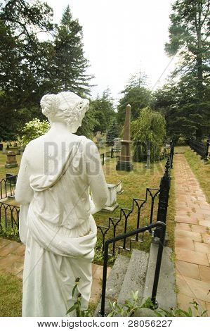 Prime Minister Sir John Alexander Macdonald grave site