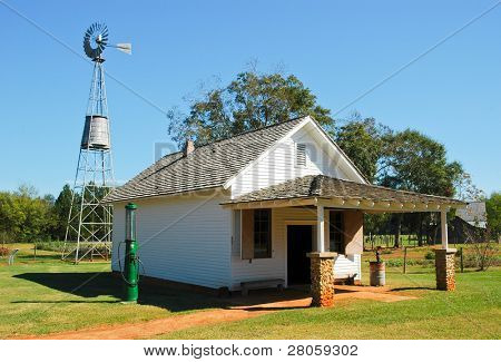 Jimmy Carter National Historic Site  farm building
