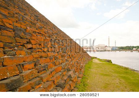 brick fort wall