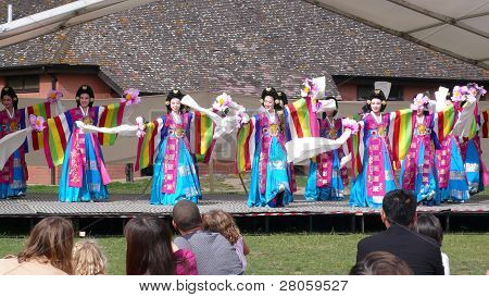 Korean Ethnic Dance Performance