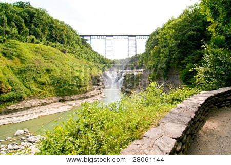 Upper Falls and Portage Viaduct