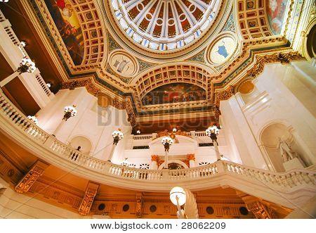 Pennsylvania State Capital Gebäude innere Kuppel