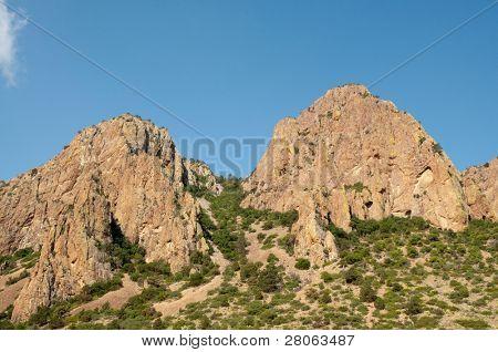 Chisos Mountains peaks