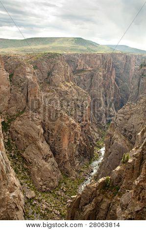 Black Canyon do Rio Gunnison