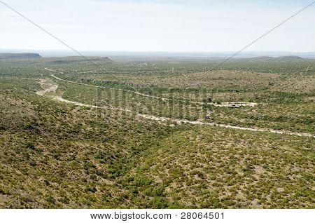 permian reef trail view