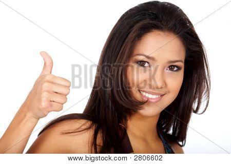 Woman - Thumbs Up
