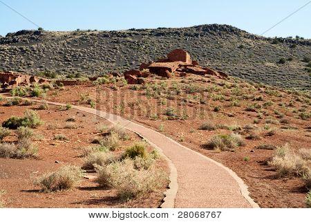 Wupatki ruin complex and trail