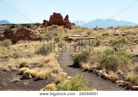 Box Canyon native american indian dwelling ruins