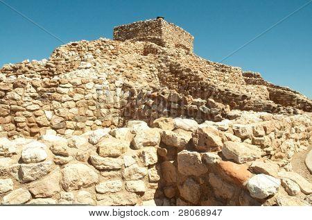 Tuzigoot National Monument native american indian ruins