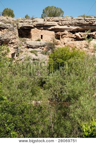 Montezuma Well National Monument native american indian ruins