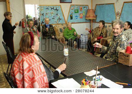 PODPOROZHYE, RUSSIA - OCTOBER 9: