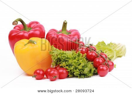Vitamin vegetable collection