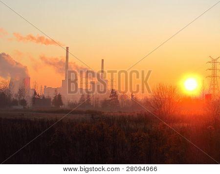 Energía del sol o de carbono