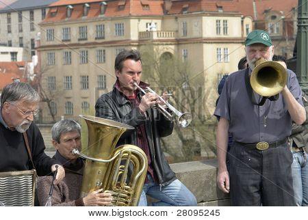 street band in prague