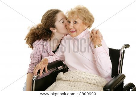 Kiss For Grandmother