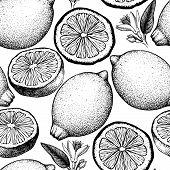 Lemon Pattern 2 poster