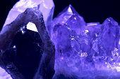 foto of crystallography  - crystals - JPG