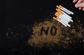 World No Tobacco Day Poster For Say No Smoking Concept poster