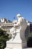 picture of socrates  - Socrates monument in Athens  - JPG